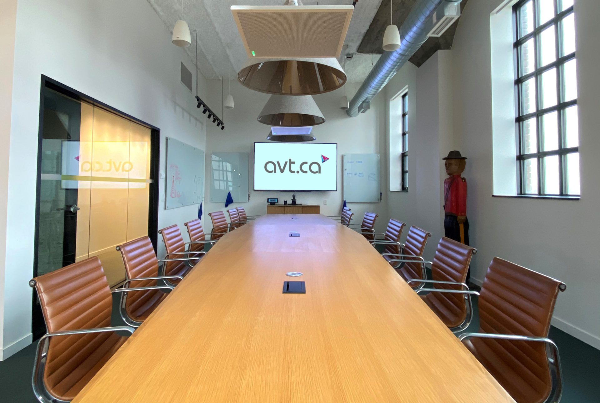 Corporate Boardroom AV