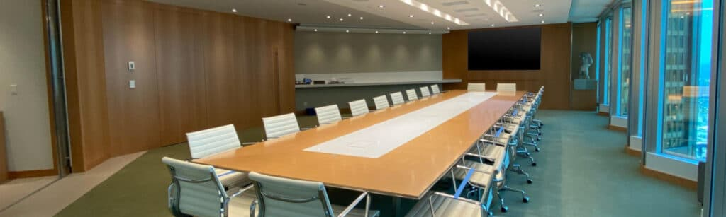 Boardroom AV Equipment