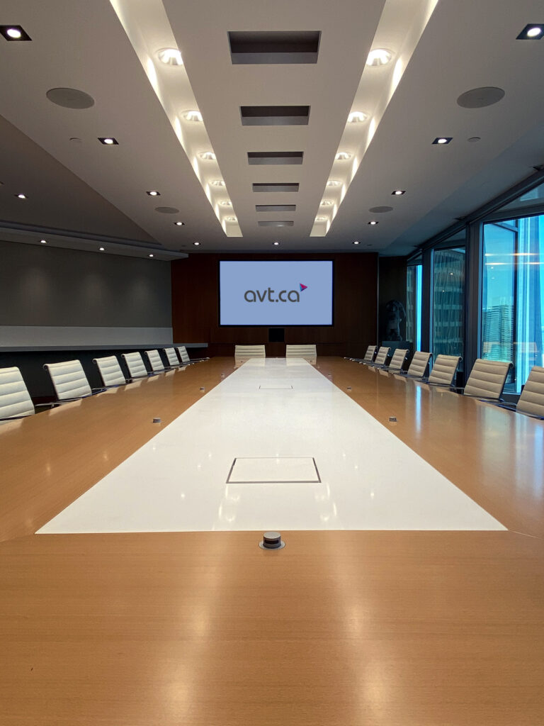 Boardroom AV Equipment